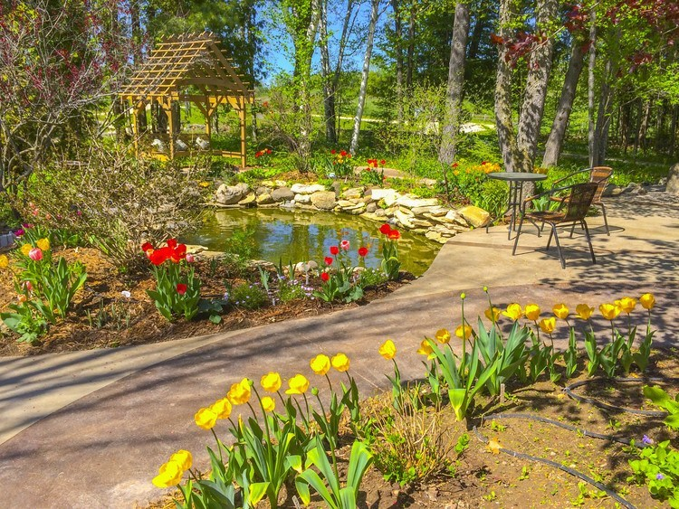 Experience the Tranquility of the Plum Bottom Perennial Gardens